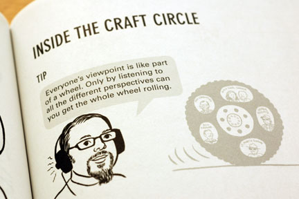 inside the craft circle